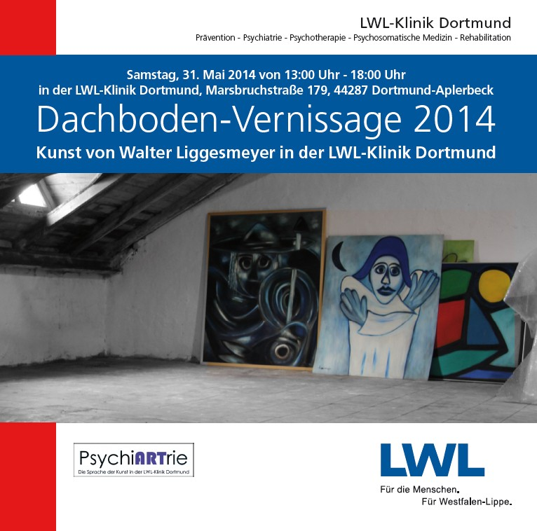Dachboden-Vernissage Plakat