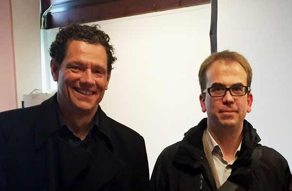 Dr. Marc-Andreas Edel mit Prof. Dr. Helge Frieling